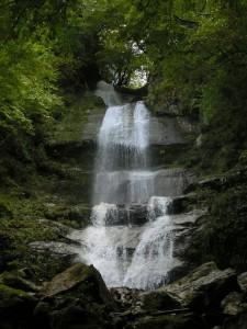 唐岬の滝写真