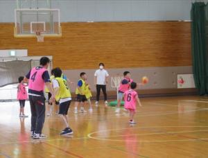 R3スポーツ講習(7月バスケ③)