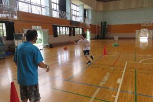 R3スポーツ講習(7月バスケ②)