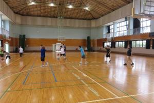 R3スポーツ講習(7月バスケ①)